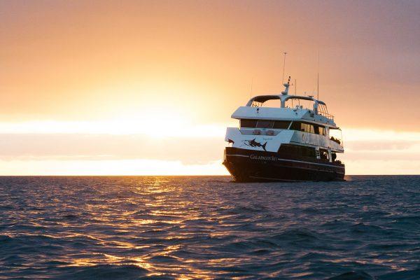 Galapagos sky sunset