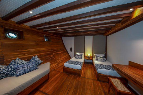 Lower Deck Twin Cabin 1