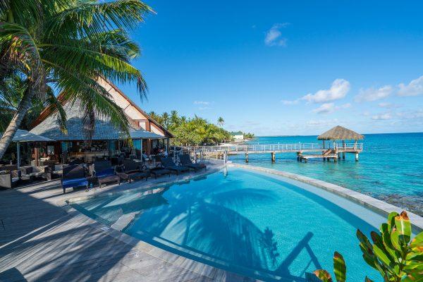 Pool Maitai Rangiroa Hotel