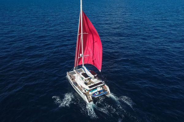 Aquatiki 3 sailing