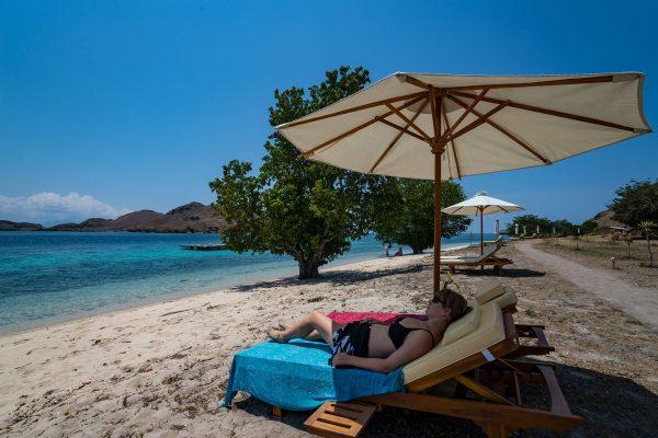 beach liegen