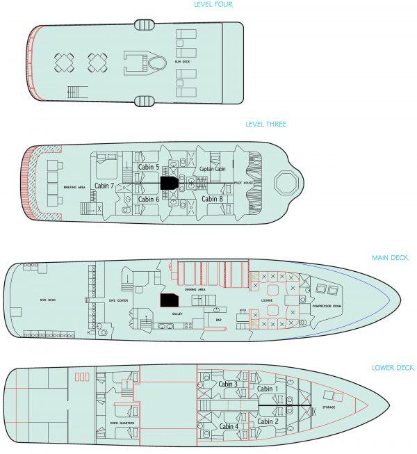 galapagos aggressor layout