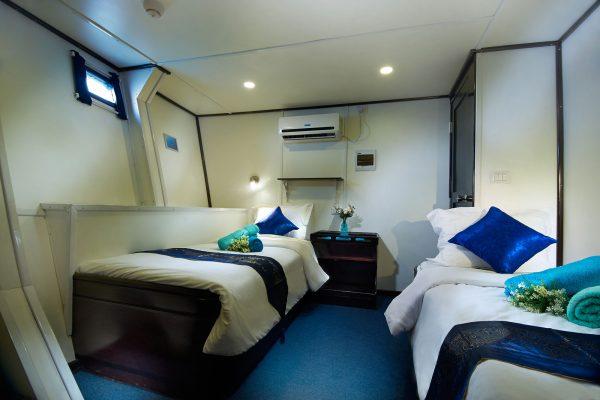galapagos master cabin 2 lower deck