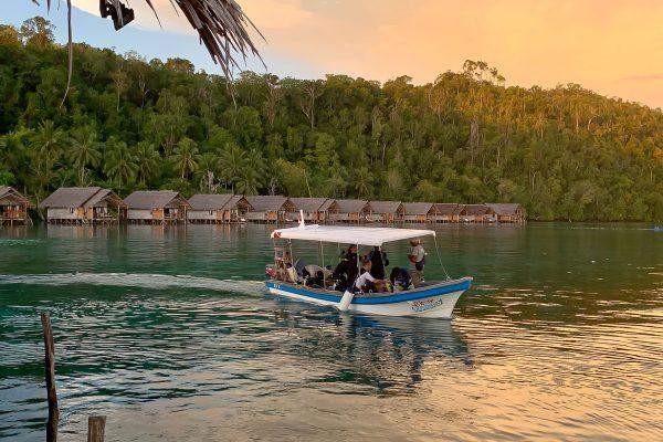 papua explorers diveboat